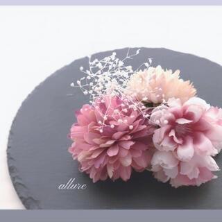 【再販】髪飾り 山桜 No.38 ❀.*・゜さくら 袴 卒業式 着物