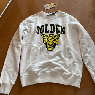 GOLDEN GOOSE - 新品 ゴールデングース スエット トレーナー トラ Sサイズ