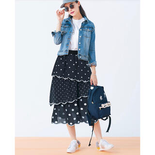 Chesty - タグ付新品♡チェスティ  スカラップドットスカート