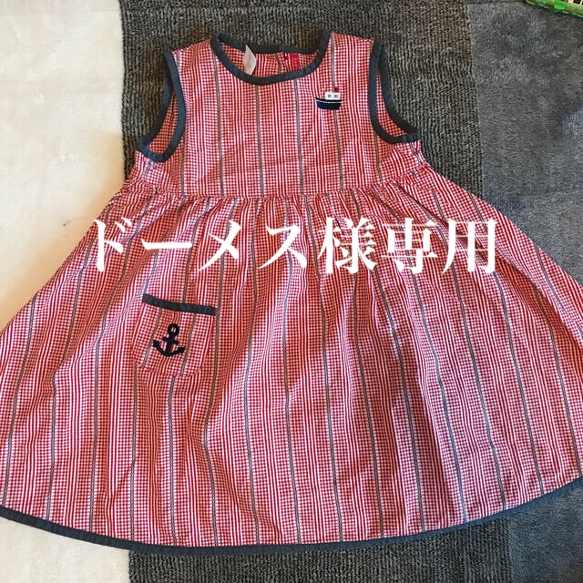 familiar(ファミリア)のファミリア☆ワンピース90 キッズ/ベビー/マタニティのキッズ服女の子用(90cm~)(ワンピース)の商品写真