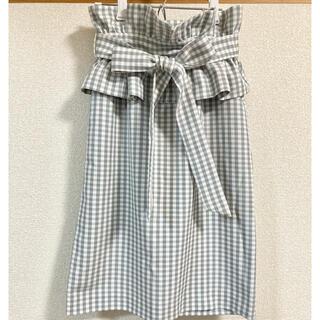 31 Sons de mode - 新品未使用♡トランテアンソンドゥモード ギンガムペプラムスカート