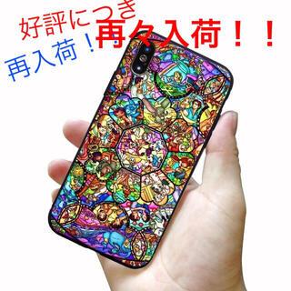 ディズニー キャラクター ステンドグラス風 iPhoneケース