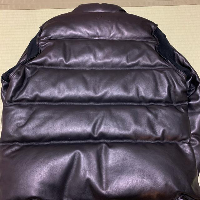 UNDERCOVER(アンダーカバー)のundercover × fragment レザー  ダウン ジャケット メンズのジャケット/アウター(ダウンジャケット)の商品写真