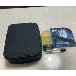 ブルガリ(BVLGARI)のBVLGARIポーチ セット(香水(男性用))