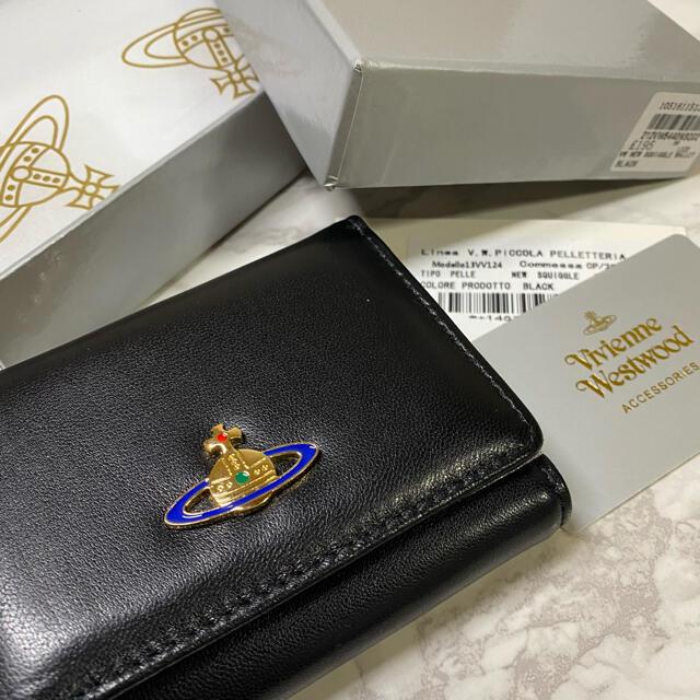 Vivienne Westwood(ヴィヴィアンウエストウッド)のVivienne Westwood ヴィヴィアンウエストウッド ミニ財布 レディースのファッション小物(財布)の商品写真