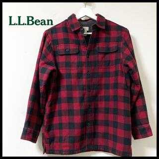 エルエルビーン(L.L.Bean)のL.L.BEAN エルエルビーン ネルシャツ ボアフリース チェック(シャツ)