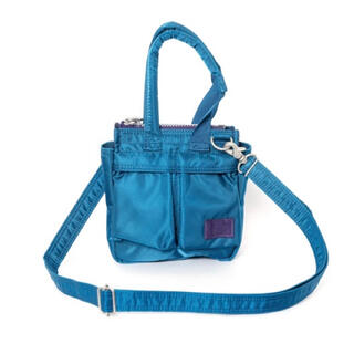 sacai - sacai porter バッグ ターコイズ
