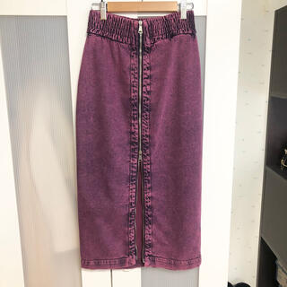ヌメロヴェントゥーノ(N°21)のヌメロヴェントゥーノ ジップスカート(ロングスカート)