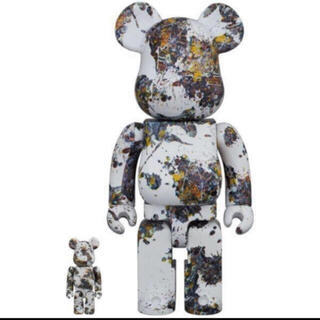 MEDICOM TOY - BE@RBRICK Jackson Pollock Studio 100/400
