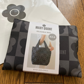 MARY QUANT - 新品 マリークワント エコバッグ 黒 大