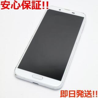 アクオス(AQUOS)の良品中古 SIMロック解除済 SHV43 シルキーホワイト (スマートフォン本体)