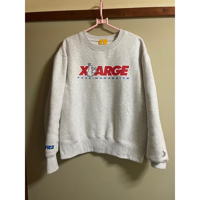 XLARGE(エクストララージ)のXLARGE FR2 Crew Sweat Mサイズ メンズのトップス(スウェット)の商品写真