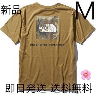 THE NORTH FACE - Mサイズ ノースフェイス Tシャツ カーキ ボックスロゴ 即日発送