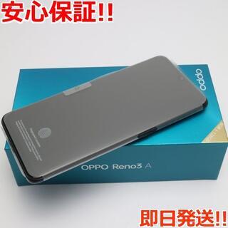 アンドロイド(ANDROID)の新品 Ymobile OPPO Reno3 A ブラック (スマートフォン本体)