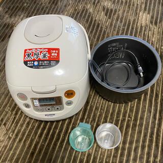 ゾウジルシ(象印)の象印 炊飯器 マイコン式 5.5合 NS-WB10 15年製(炊飯器)