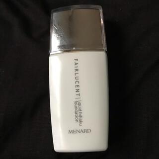 MENARD - メナード フェアルーセント 美白リクイドファンデーション 41Y 中古品