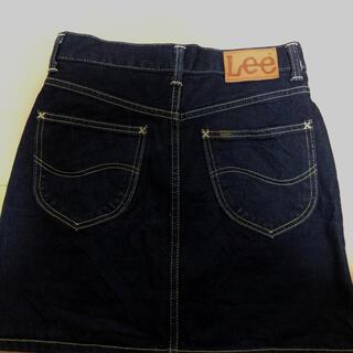 リー(Lee)のLee デニムスカート  濃紺(ミニスカート)