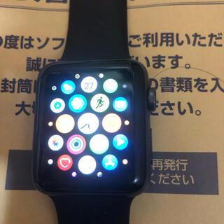 アップルウォッチ(Apple Watch)のアップルウォッチ2アルミニウム42(腕時計(デジタル))