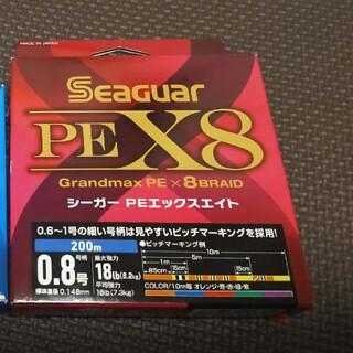 シーガー PEX8 ルアーエディション 0.6 0.8 PE