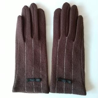 【新品・未使用】レディース手袋 ブラウン