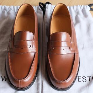 ジェーエムウエストン(J.M. WESTON)のJMウエストン180ローファー タン新品 5h C(ローファー/革靴)