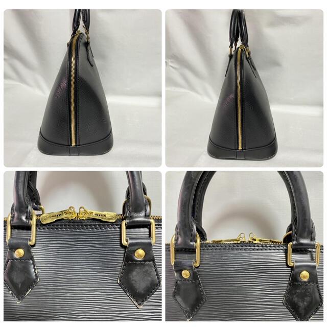 LOUIS VUITTON(ルイヴィトン)の【正規品】ルイヴィトン エピ アルマ 黒 ハンドバッグ レディースのバッグ(ハンドバッグ)の商品写真