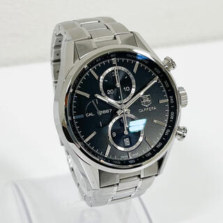 TAG Heuer - 美品 タグホイヤー カレラ1887 国内正規品 CAR2110-3 メンズ腕時計