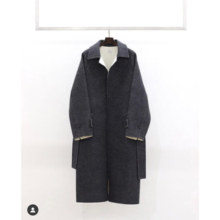 COMOLI - POSTELEGANT 20AW Wool Rever Coat