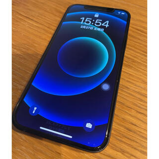 iPhone - iPhone 12 ブラック 256 GB SIMフリー