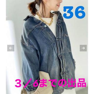 L'Appartement DEUXIEME CLASSE - 新品 【シュタンバウム】OVERSIZE DENIM JACKET36