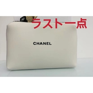 CHANEL - 新品♡CHANEL シャネル ポーチ ホワイト 極希少!