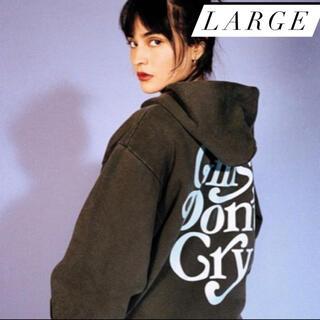GDC - girls don't cry logo Hoodie Lサイズ