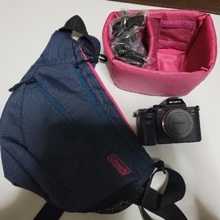 ソニー(SONY)のSONYカメラ本体a7iii リストストラップSDカードpeak design(ミラーレス一眼)