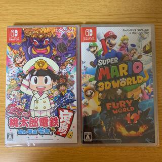 任天堂 - 桃太郎電鉄  スーパー マリオ 3D ワールド 二点セット 新品未開封