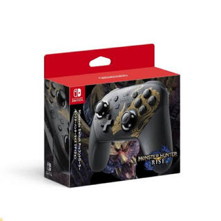 Nintendo Switch - Switch モンスターハンターライズエディション Pro コントローラー