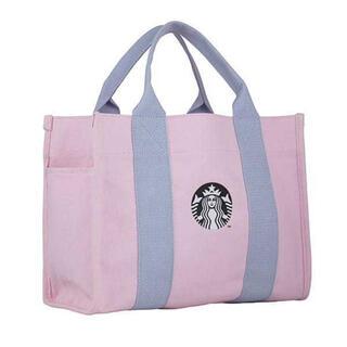 Starbucks Coffee - STARBUCKS トートバッグ 桜2021 キャンバストート ピンク