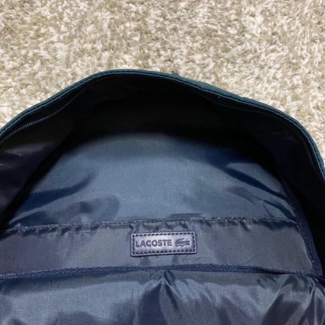 LACOSTE(ラコステ)のみわ様専用 LACOSTE リュック デイパック メンズのバッグ(バッグパック/リュック)の商品写真