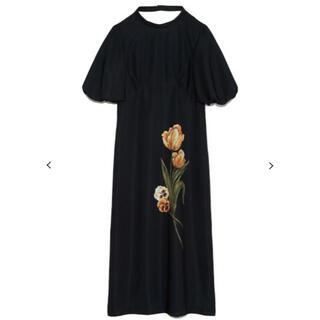 Lily Brown - tulipワンピース ブラック