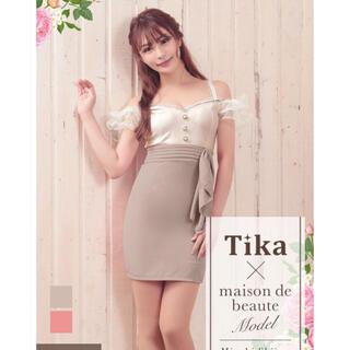 デイジーストア(dazzy store)のティカ 新品♡キャバドレス ワンピース Mサイズ(ミニドレス)