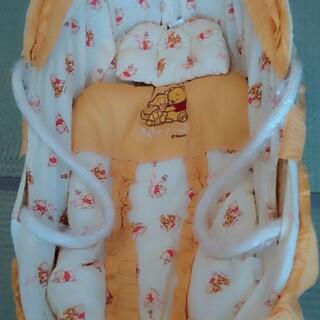 ニシマツヤ(西松屋)の☆騎婀と虎珀☆様専用  ベビープー クーファン クーハン  かご 布団枕付き(その他)