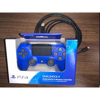 PlayStation4 - SONY ワイヤレスコントローラー DUALSHOCK 4 (充電ケーブル付き)