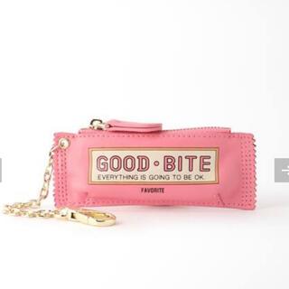 ドゥーズィエムクラス(DEUXIEME CLASSE)の新品【GOOD GRIEF】GOOD BITE MINI CASE  ピンク(キーホルダー)