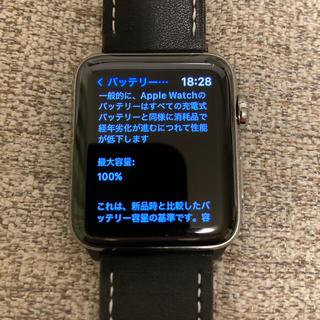 Apple Watch - Apple Watch HERMES series3 【美品】