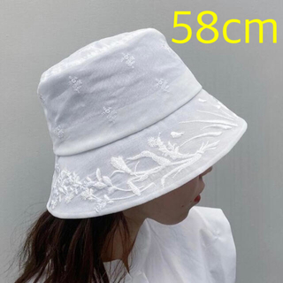 mame - mame マメ Floral Embroidered Bucket Hat 希少