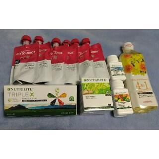 アムウェイ(Amway)のAmway トリプルX DHA グルコサミン など セット(ビタミン)