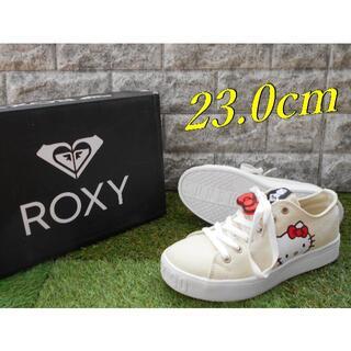 Roxy - 【週末限定値下げ】23cm ロキシー レディーススニーカー キティちゃん