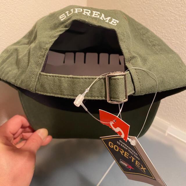 Supreme(シュプリーム)のsupreme  S logo 6 panel cap olive メンズの帽子(キャップ)の商品写真