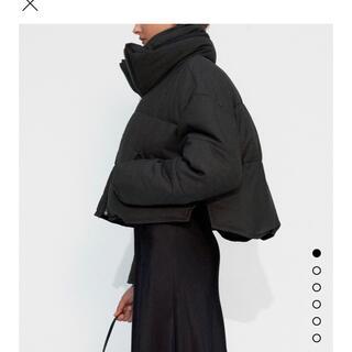 ZARA - ZARA♡コントラスト生地キルティングジャケット
