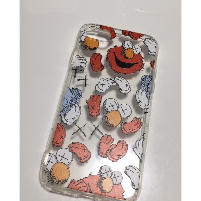 SESAME STREET(セサミストリート)のエルモ 値下げ iPhone7 iPhone8 iPhoneSE2 可愛い 赤 スマホ/家電/カメラのスマホアクセサリー(iPhoneケース)の商品写真