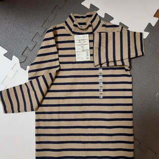 MUJI (無印良品) - 無印良品 ハイネック長袖 110cm
